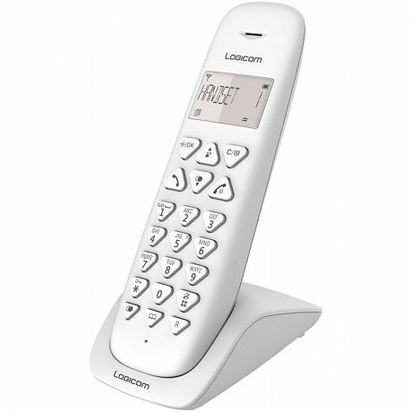 Logicom Téléphone sans fil AURA 100 SOLO BLANC