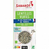 Sabarot lentille verte zrp 500g