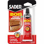 Sader colle bois prise rapide 55ml tube sous blister