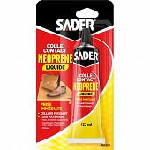 Sader colle contact neoprene liquide 125 ml tube sous blister