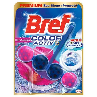 Bref Bref wc color activ+ fleurs sauvages 50g