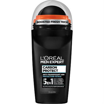 L'Oréal Men expert deodorant bille 5en1 carbon intense ice 50ml