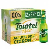 Tourtel twist citron 12x27.5cl 0%vol