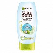 Ultra Doux après-shampoing eau de coco aloé 200ml
