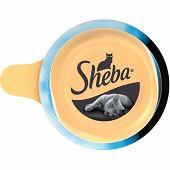 Sheba dome filets de thon et poisson de l'océan 80g