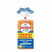 Jacquet 21 maxi tranches nature sans sucres ajoutés 825g