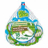 P'tit louis nature filet 18 portions au lait entier 360g
