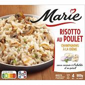 Marie risotto au poulet et aux champignons à la crème 900g