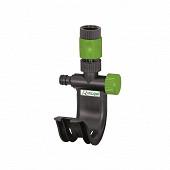 Support robinet pour tuyau d'arrosage avec raccord