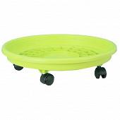 Riviera soucoupe à roulettes diamètre 31cm vert anis