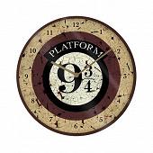 Horloge murale harry potter voie 9 3/4