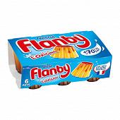 Flanby vanille nappage caramel 6x100g