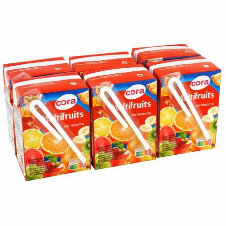 Cora nectar multifruits briquette 6 x 20cl