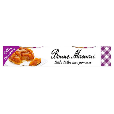 Bonne Maman Bonne Maman tarte tatin aux pommes 2x120g offre découverte