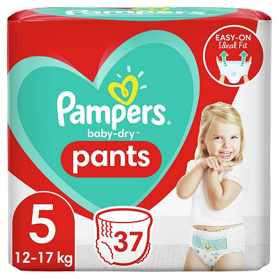 Pampers Pampers baby dry pants couches-culottes geant taille 5 37ct