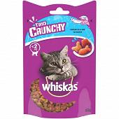 Whiskhas trio crunchy friandises saveurs de la mer pour chat 55g