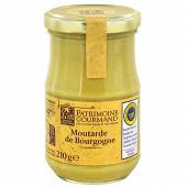 Patrimoine gourmand moutarde de Bourgogne 210 g