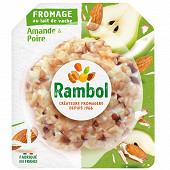 Rambol décor poire/amandes 125g au lait de vache 125g