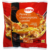 Cora penne poulet champignons 900g