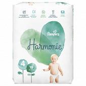 Pampers harmonie t4 paquet x19