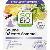 So Bio baume détente sommeil aux 7 huiles essentielles biologiques 40ml