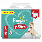 Pampers baby dry pants couches-culottes mega taille 4+ 78ct