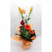 Bouquet bulle Lola 8 tiges