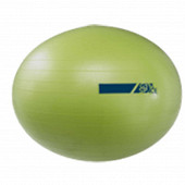 Ballon pilates gym space 55cm jaune