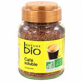 Nature bio café soluble origine tanzanie 100 g