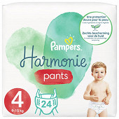 Pampers Harmonie langes geant taille 4 24ct