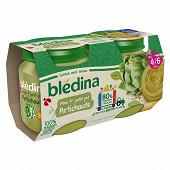 Bledina pots artichauts 2x130g