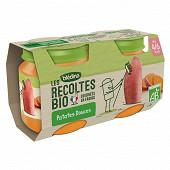 Blédina les récoltes bio patates douces dès 4/6 mois pots 2x130g