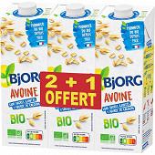 Bjorg boisson avoine calcium lot 2 + 1 3l
