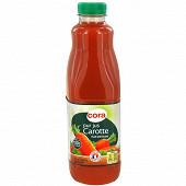 Cora pur jus de carotte pet 1L