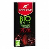 Côte d'or bio noir 70% 90g