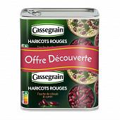 Cassegrain haricots rouges, touche de ciboule & cumin 1/2x2 800g