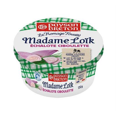 Paysan Breton Paysan Breton le fromage fouetté Mme Loïk échalote ciboulette 150g