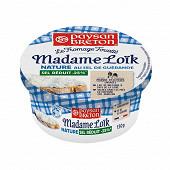 Paysan Breton le fromage fouetté Madame Loïk nature au sel de Guérande sel réduit 150g