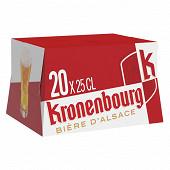 Kronenbourg 20x25cl 4.2%vol