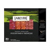 Labeyrie assortiment pata negra saucisson, chorizo & lomo 110g