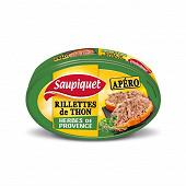 Saupiquet rillettes de thon aux herbes de provence 115 g