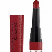 Bourjois rouge à lèvres velvet the lipstick 011 berry formidable 2.4 gr