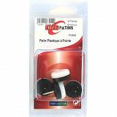 Trefilaction patin plastique   pointe D22X4