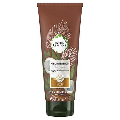 Herbal Essences Herbal Essences Pure Lait de Coco Hydratation Après Shampoing 200ml