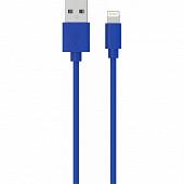 Wow Câble de charge usb lightning 2,4a 1m bleu WCBLMFI1MBL