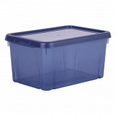 Boite funny box bleu profond 4L avec couvercle