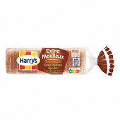 Harrys pain de mie sans sucres ajoutés extra moelleux complet 500g