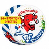 La vache qui rit 24 portions + 8 offerte 512g
