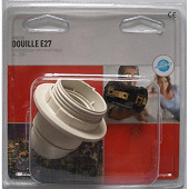 Prodelect douille e27 thermoplastique sb blanc