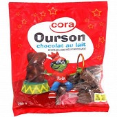 Cora kido ourson chocolat au lait 200g